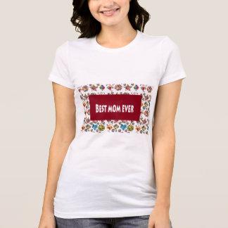 Sale Shirts Best Mom Ever Artistic Slogan Sprinkle