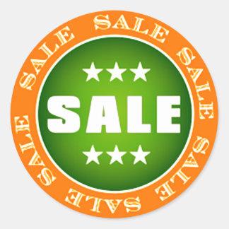 Sale Sign Round Sticker