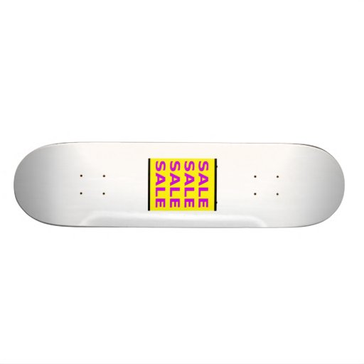 Sale Sign Skateboards