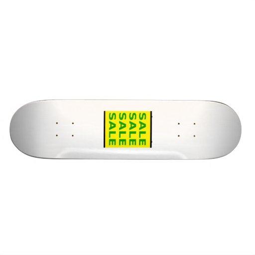 Sale Sign Skate Boards