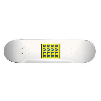 Sale Sign Skate Board Deck