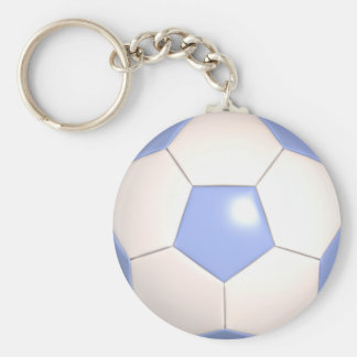Sale! Soccer Basic Round Button Key Ring