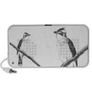 Sale !! Stereo Birds Doodle Speaker