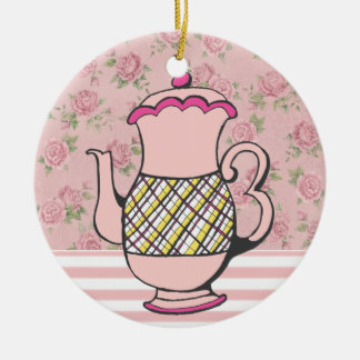 Sale! Tea Time Christmas Ornament
