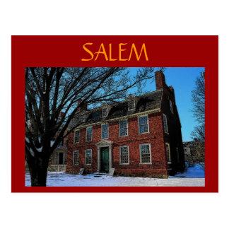 Salem (Brick) Postcard