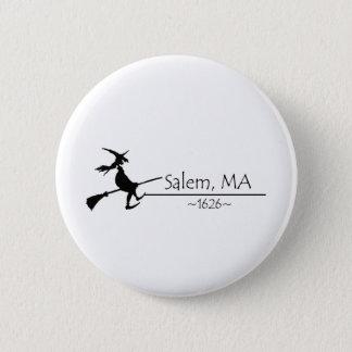 Salem, MA 1626 6 Cm Round Badge