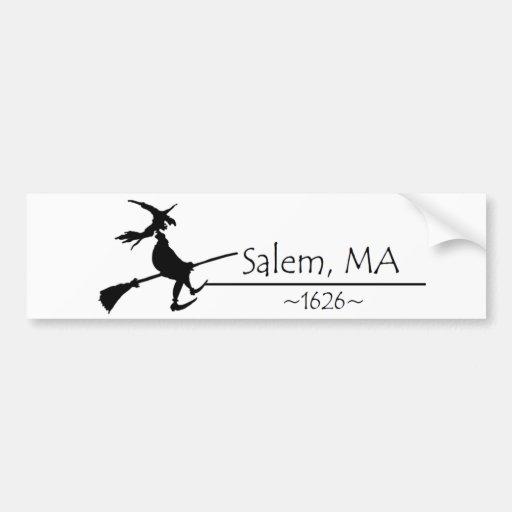 Salem, MA 1626 Bumper Stickers