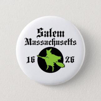 Salem Massachusetts 6 Cm Round Badge