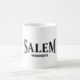 Salem Massachusetts - black Coffee Mug