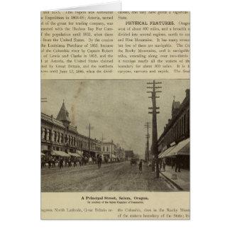 Salem, Or street Card
