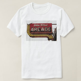 Salem Willows Arcade Neon Sign T-Shirt