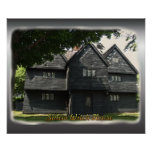 Salem Witch House Poster