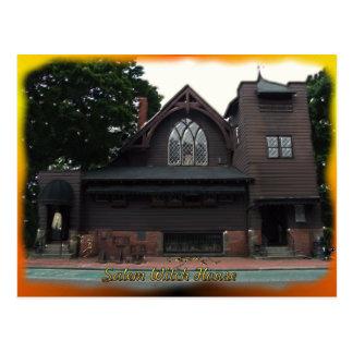 Salem Witches House Postcard