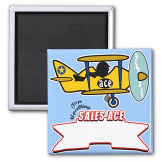 Sales Ace Top Seller Magnet