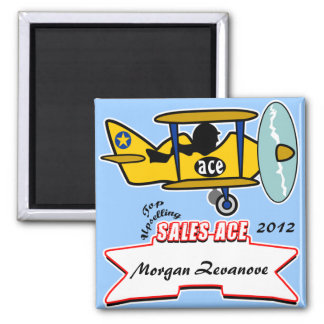 Sales Ace Top Seller Magnet