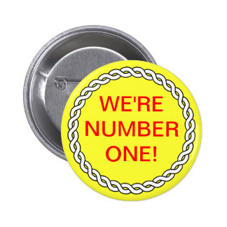 Sales Business WE'RE NUMBER ONE Event Pin Yellow