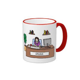 Sales professional - customizable ringer mug