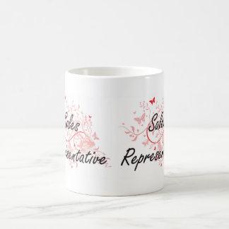 Sales Representative Artistic Job Design with Butt Basic White Mug