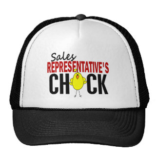 Sales Representative's Chick Hats