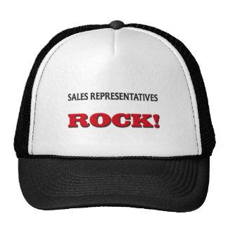 Sales Representatives Rock Trucker Hats