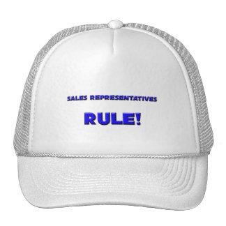 Sales Representatives Rule! Mesh Hats