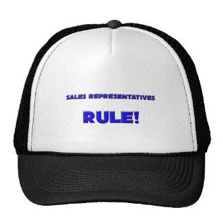 Sales Representatives Rule! Hats