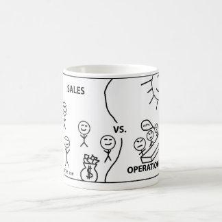 Sales vs Operations Coffee Mug