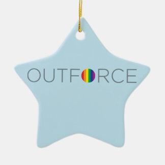 Salesforce Logo - NEW Ceramic Star Decoration