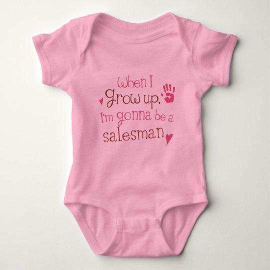 Salesman (Future) Infant Baby T-Shirt