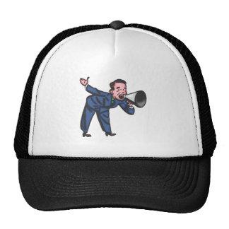 Salesman mountebank salesman buffers trucker hats