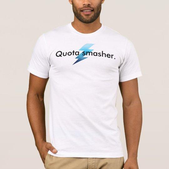 "SalesMENs T-Shirt -""Quota Smasher."""