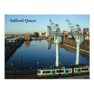 Salford Quays Postcard