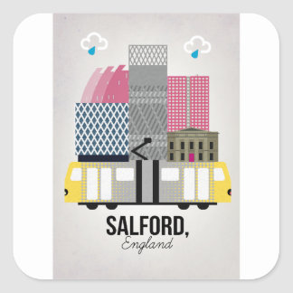 Salford Square Sticker
