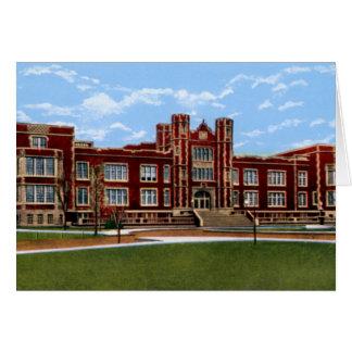 Salina Kansas Kansas Wesleyan University Greeting Card