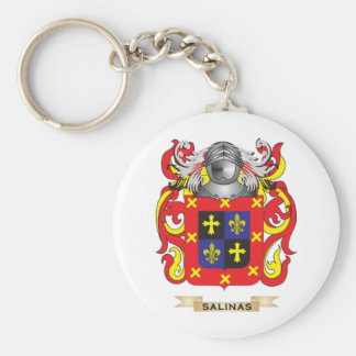 Salinas Coat of Arms Family Crest Keychains