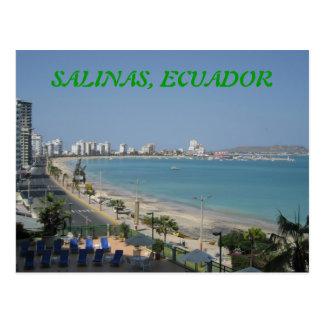 SALINAS, ECUADOR POSTCARD