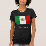 Salinas Mexican Flag T-shirt
