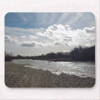 Salinas River, Paso Robles, January Mouse Pad