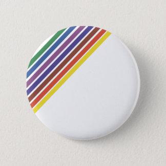 Salinger Stripe 6 Cm Round Badge
