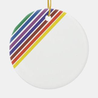 Salinger Stripe Christmas Ornament