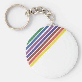 Salinger Stripe Key Ring