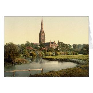 Salisbury Cathedral I, Wiltshire, England Card