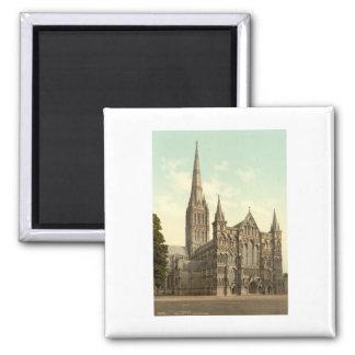 Salisbury Cathedral II, Wiltshire, England Magnet