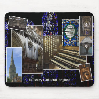Salisbury Cathedral pipe organ mousepad