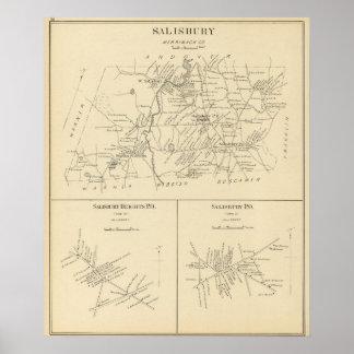 Salisbury, Merrimack Co Poster