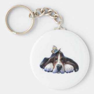 sally butterfly key ring