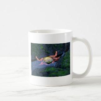 Sally Lightfoot Crab Entering Water Coffee Mug