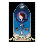 Sally Ride Memorial Poster