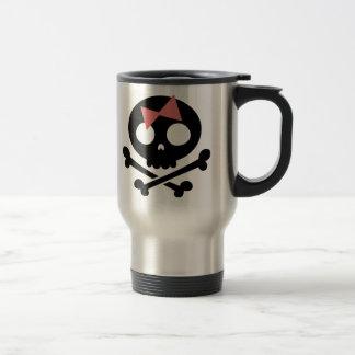 Sally Roger -bw Travel Mug
