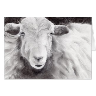 Sally the Sheep (a362) Card